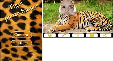 Tiger photo frames