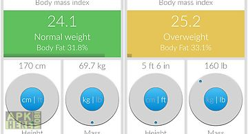 Bmi - weight tracker