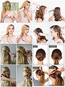 Easy Hairstyle Step By Step For Android Free Download At Apk Here - Hairstyle app download