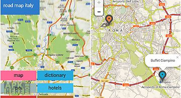 Road map source 2 destination for android free download at apk italy offline road map gumiabroncs Gallery
