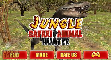 Jungle safari animal hunter 3d