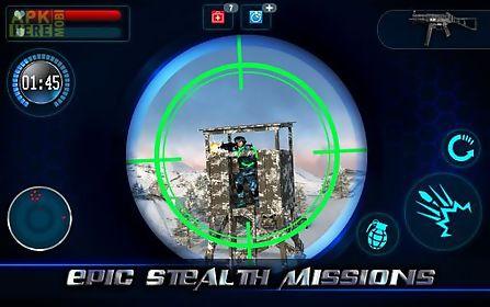 mountain sniper 3d: frozen frontier. mountain sniper killer 3d