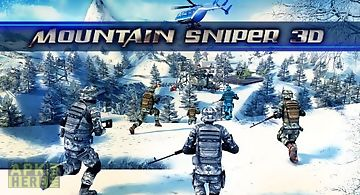 Mountain sniper 3d: frozen front..