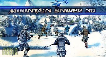 Mountain sniper 3d: frozen front..