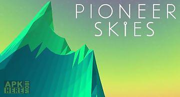 Pioneer skies: 3d racer