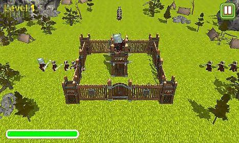 tower defence: castle sieges 3d