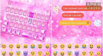 Diamond love emoji ikeyboard