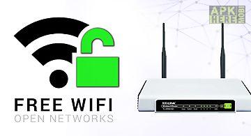 Open free wifi password