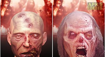 Zombie face maker free