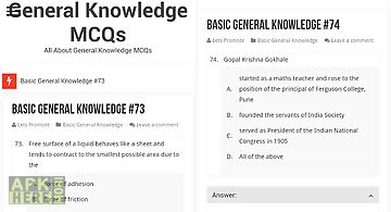 General knowledge gk today for Android free download at Apk