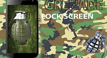 Grenade screen lock