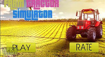 Real farm tractor sim 2017