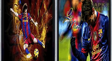 Lionel messi 3d live hd wallpape..