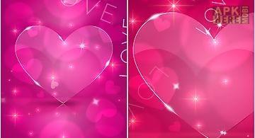 Love Hearts 3d Live Wallpaper For Android Free Download At Apk Here