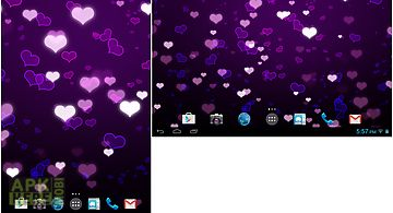 Lovely hearts free lwp Live Wall..