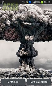 nuclear explosion live wallpaper