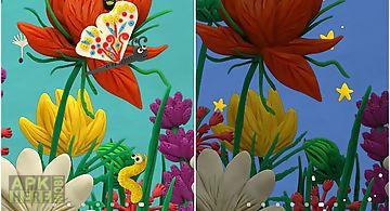 Plasticine spring flowers Live W..