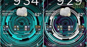 Tech rings 2  fr Live Wallpaper
