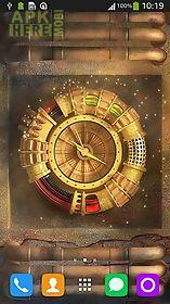 wallpaper with clock live wallpaper