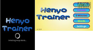 Henyo trainer game