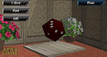 Room dice roller 3d