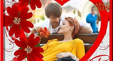 Valentine photos frames