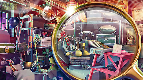 hidden objects: house cleaning