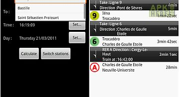 Paris Metro Map App.Paris Bus Metro Train Maps For Android Free Download At Apk Here