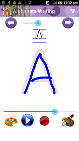 alphabets and numbers tracing
