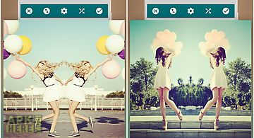 Mirror photo:editor&collage