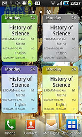 a+ timetable