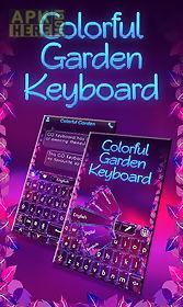 colorful garden go keyboard