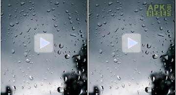 Rain effect makes deep sleep