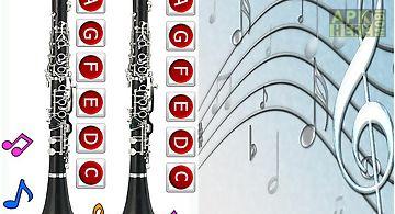 Real clarinet