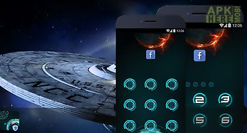 Applock theme - startrek