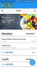calorie counter & diet tracker