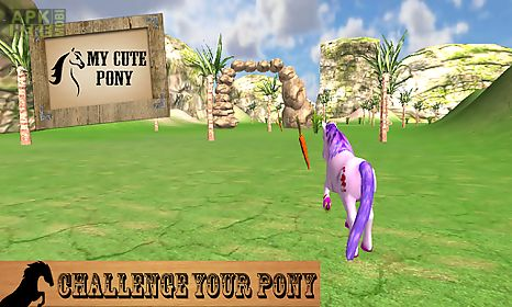 my cute pony horse simulator