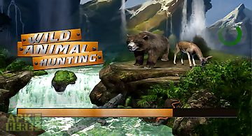 Wild animal hunting game