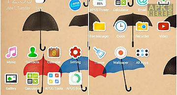 Youth-apus launcher theme