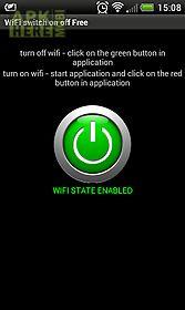 wifi turn on, wifi turn off