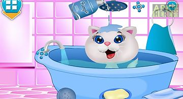 Cat beauty salon