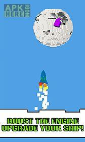 pixel adventure space
