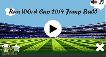 Run world cup 2014 jump ball