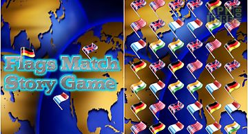 Flags match story game free