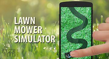 Lawn mower green simulator