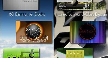 One more clock widget free
