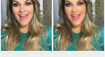 Selfie face makeup