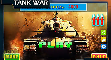 Tank shoot war