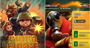 Boom force: war game