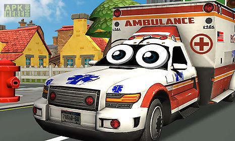 crazy ambulance city racer 3d